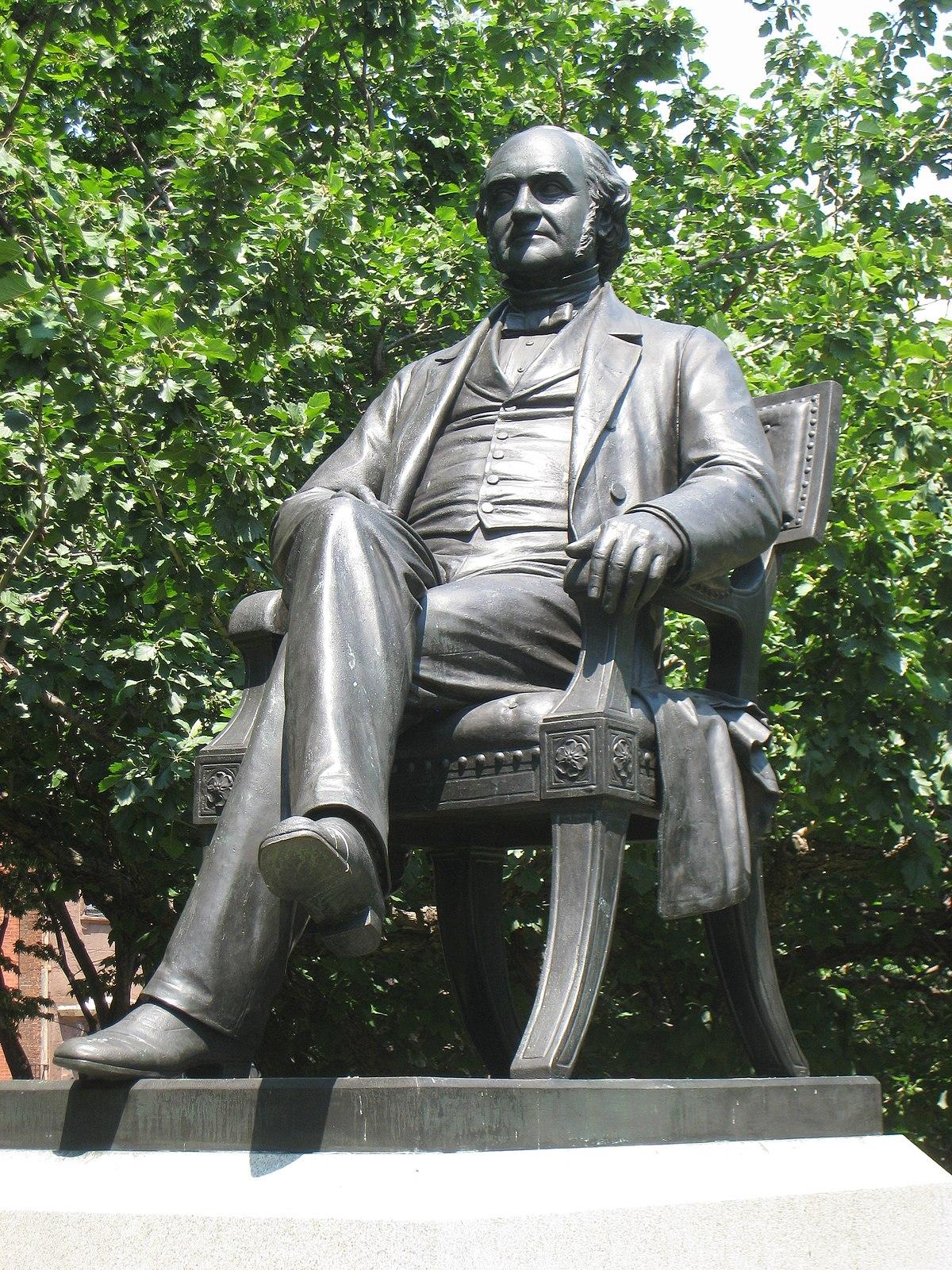 George Peabody Sculpture Wikipedia