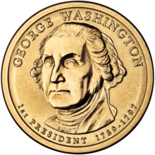 obverse.png George Washington presidencial $ 1 Coin