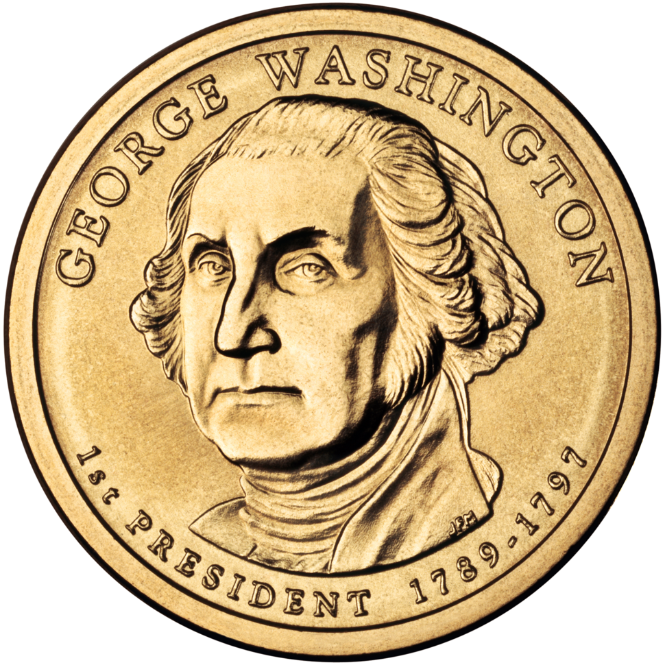 George Washington Presidential $1 Coin obverse