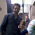 Gerard Butler and Mandalynn on set of Machine Gun Preacher.jpg