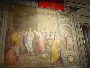 Oratory of Gesù Pellegrino - Image: Gesù pellegrino, Giovanni Balducci, storie cristologiche 02