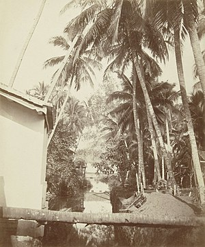Jacobus Anthonie Meessen - Kali Mati, Padang, Sumatra, photographed by Meessen