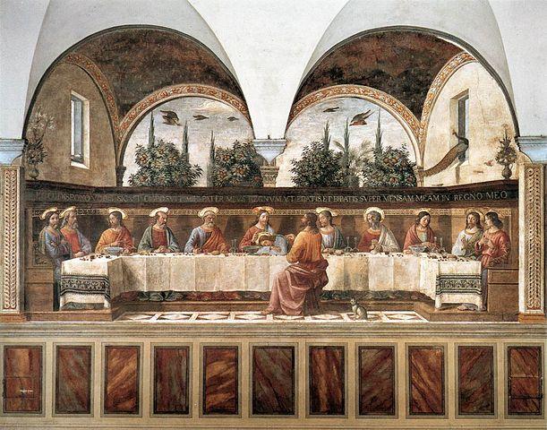 Santa Cena de San Marcos, Domenico Ghirlandaio