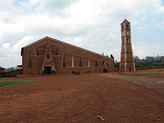 Religion in Burundi - Image: Gitega Church