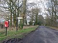 Glanvilles Wootton, postbox No. DT9 78, Stock Hill Lane - geograph.org.uk - 1133615.jpg