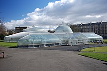 Beau The Kibble Palace Exterior. Glasgow Botanic Gardens ...