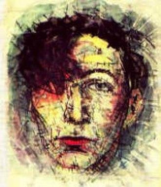 Geo Milev - Self-portrait 1918
