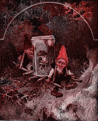 The Children's Encyclopædia - The Goblins in the Gold-Mine