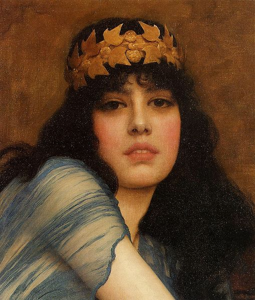 File:Godward, Head of a girl.jpg