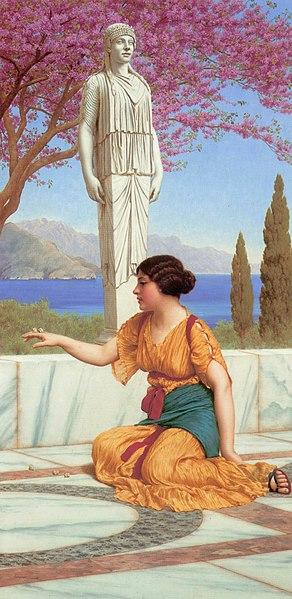 File:Godward - Ancient Pastimes -1916.jpg