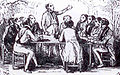 Goguette sous une treille en 1845.jpg