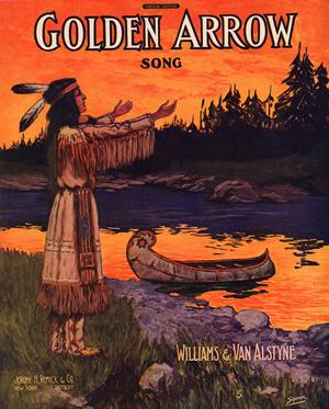 Golden Arrow (song) - Image: Golden Arrow 1909