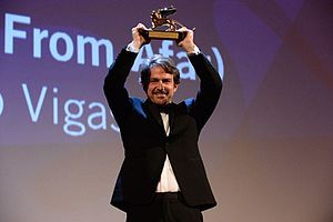 72nd Venice International Film Festival - Lorenzo Vigas with the Golden Lion for From Afar