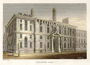 Goldsmiths' Hall - The second Goldsmiths' Hall c.1814
