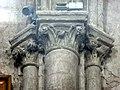 Gournay-en-Bray (76), collégiale St-Hildevert, croisillon sud, chapiteaux du doubleau intermédiaire, côté ouest.jpg