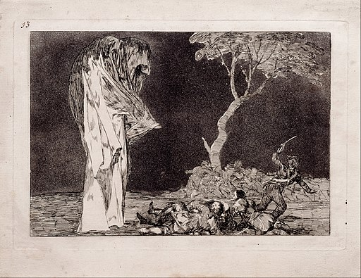 Goya y Lucientes, Francisco de - Fearful Folly - Google Art Project
