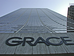 W. R. Grace Building - Image: Grace Bldg NY from entrance