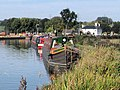 Grand Union Canal - Moorings South of Grove Lock - geograph.org.uk - 1510070.jpg
