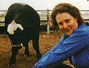 Temple Grandin. Photograph courtesy Rosalie Winard.