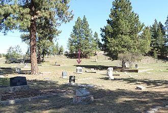 Conrad Kain - Image: Grave site