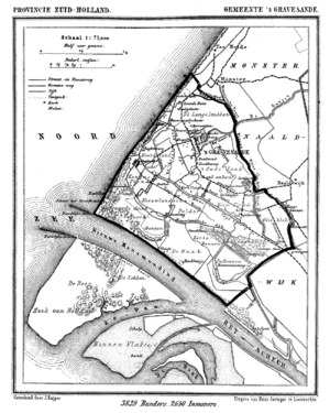 's-Gravenzande - 's-Gravenzande in 1868.