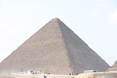 Great Pyramid of Giza 2010 from the Great Sphinx.jpg