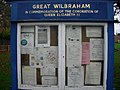 Great Wilbraham noticeboard - geograph.org.uk - 1046892.jpg
