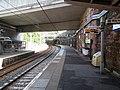 Greenock West railway station, Inverclyde Line, Scotland - view east.jpg