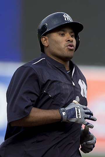 Petit with the New York Yankees Gregorio Petit (16977518079).jpg