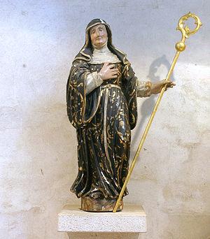 Brigid of Kildare - Brigida von Kildare, Gross St Martin, Köln