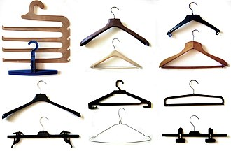 Clothes hanger - Various clothes hangers