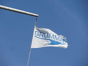 Grumman - A Grumman flag flying at Grumman Memorial Park