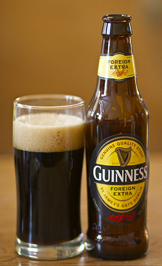 Guinness Foreign Extra Stout - A bottle of Guinness Foreign Extra Stout