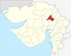 Gandhinagar district - Image: Gujarat Gandhinagar district
