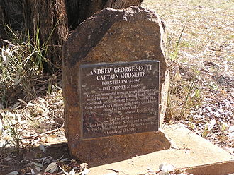 Captain Moonlite - Headstone at Gundagai cemetery