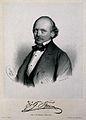 Gustav Braun. Lithograph by A. Dauthage, 1860. Wellcome V0000757.jpg