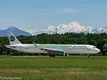HB-JOI Airbus A321-211 A321-S - Germania Flug (27050270950).jpg