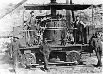 1873 in South Africa - East London Harbour Board 0-4-0