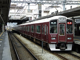 Hankyu Kyoto Main Line railway line in Japan