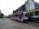 HKL tram line 4 on Mannerheimintie 03.jpg