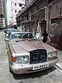 HK 大坑 Tai Hang sidewalk carpark Rolls-Royce brown car Sunday morning July 2019 SSG.jpg