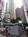 HK 香港 西環 Sai Ying Pun 正街 Centre Street August 2018 SSG 爹核里 David Lane Temporary Public Toilet.jpg