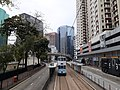 HK 香港 tramway 152 tour view 北角 North Point 英皇道 King's Road near 健威花園 Healthy Gardens 健威坊 Fit Fort Saturday morning April 2020 SS2 01.jpg