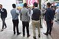 HK CWB 銅鑼灣 Causeway Bay 利園山道 Lee Garden Road event group photo September 2018 IX2 02 men formal office suits.jpg