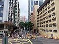 HK CWB 銅鑼灣 Causeway Bay 高士威道 Causeway Road Tung Lo Wan Road yellow lines n school building Sunday June 2019 SSG 01.jpg
