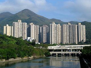 Kwong Yuen Estate Housing estate in Sha Tin, New Territories