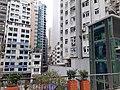 HK SW 上環 Sheung Wan 皇后大道中 Queen's Road Central 水坑口街 Possession Street footbridge lift Sunday morning October 2019 SS2 13.jpg