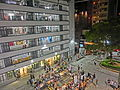 HK Sheung Wan PMQ mall facade Hollywood Road night May-2014 008.JPG