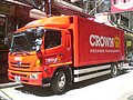HK Sheung Wan Wing Lok Street 嘉柏 Crown Worldwide Group Vehicle.JPG