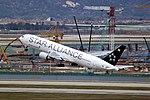 HL7516 - Asiana Airlines - Boeing 767-38E - Star Alliance Livery - ICN (17079088019).jpg